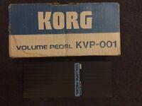 Korg KVP-001 Volume Pedal inc. box
