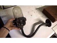 outdoor metal vintage lamp