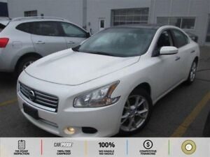 2012 Nissan Maxima SV LEATHER! BLUETOOTH! CRUISE! PADDLE SHIF...