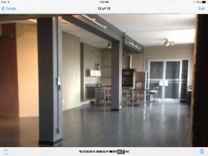 1bedroom + den warehouse condo