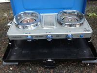 Campinggaz two burner with grill