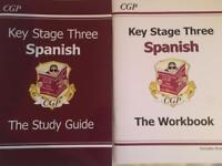 Ks3 Spanish study guide and workbook