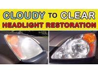 Professional Headlight restoration Services- I restore your headlights
