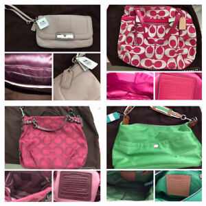 Real COACH purses, wallets and accessories for sale!