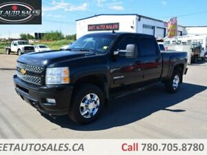 2012 Chevrolet Silverado 3500HD LTZ Sunroof, Leather, Backup, Du