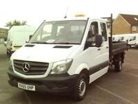 Mercedes-Benz Sprinter 313 CDI LWB 3.5T TIPPER DIESEL MANUAL WHITE (2015)