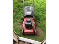 2 petrol mowers spares and repairs