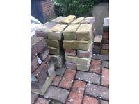 Used bricks approx 100