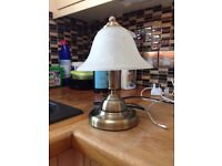 Brass Bedroom Bed Side Table Lamp (Touch Sensitive)