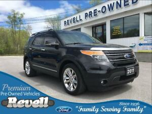 2011 Ford Explorer Limited 4WD   *1-owner trade, Twin dvd screen