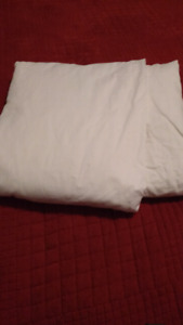 King sized 100% SUPIMA cotton fitted sheet  WHITE