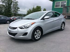 2013 Hyundai Elantra L MANUAL WITH PWR WINDOWS AND SINGLE OWNED!