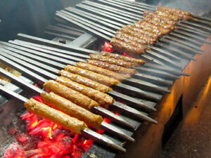 BBQ Skewers - Rectangle Thick
