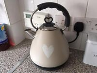 Brand new Cream Kettle Unopened