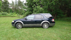 2009 Ford FreeStyle/Taurus X SUV, Crossover