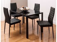 Dining Table Set with 4 Chairs for SALE