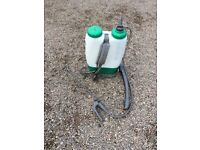 Backpack sprayer for weedkiller etc. 12 litre capacity