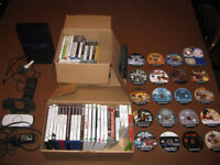 Sony Playstation Console AND PSP Console with many games.
