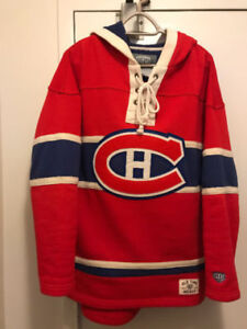 Montreal Canadiens Old Time Hockey Jersey Hoodie Habs