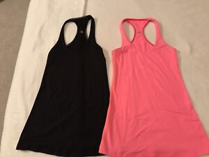 Mint condition lulu tanks and bras