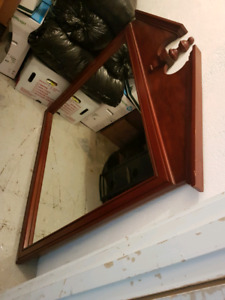 Beautiful cherrywood mirror for sale