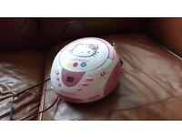 Hello Kitty CD/Radio