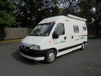 Trigano Tribute 2 Berth 3 Seat Belts Panel Van Conversion For Sale