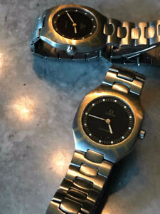 TWO / DEUX OMEGA MULTIFUNTION  SEAMASTER   men's  watches