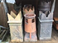 Reclaimed chimney pots from £50