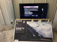 """Samsung 55"""" curved 4k Suhd smart led tv ue55ks9000 (for spares and repair)"""