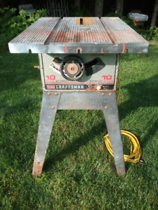 "Table Saw, 10"", Sears / Craftsman, Used"