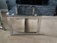 2 glass coffee tables- from Next