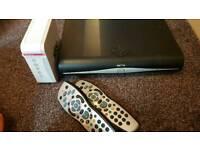 Sky hd box and broadband