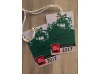 2X New Forest Show members tickets