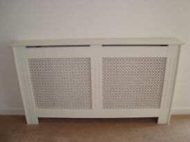 RADIATOR COVER including shelf