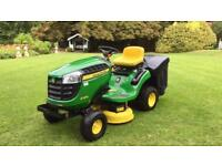 John Deere X135R Ride on Mower - Garden tractor - Rear collection - Countax/Kubota/Honda/Stiga