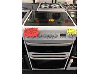 CANNON 60CM CEROMIC TOP ELECTRIC COOKER IN WHITE