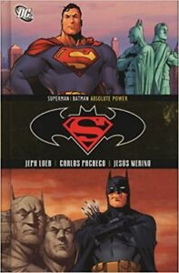 Superman Batman Absolute Power Hardcover
