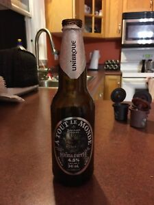 Free to good home an Empty Megadeth beer