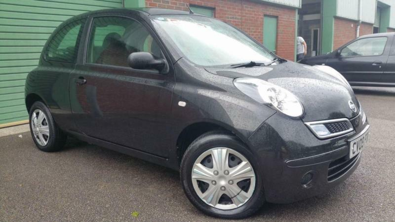 2009 09 nissan micra 86 visia black turbo diesel small cheap first in swansea gumtree. Black Bedroom Furniture Sets. Home Design Ideas