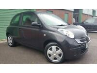 2009(09) NISSAN MICRA 1.5dCi 86 VISIA BLACK TURBO DIESEL SMALL CHEAP FIRST