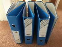 Brand new 7 lever arch files to go