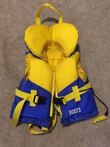 Roots toddler life jacket