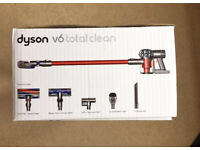 Dyson V6 total clean cordless Hoover vacuum cleaner with Guarantee