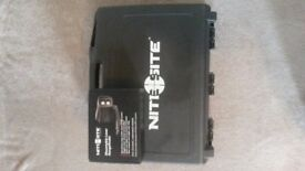 Nitesite night vision scope and laser range finder