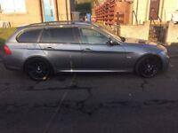 BMW 318d Msport touring estate may swap px