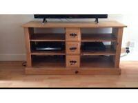 Beautiful solid pine tv unit