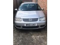 VW Polo Match 51 plate