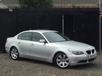 ★ BMW 5 SERIES 525D SE + FSH + LEATHERS SEATS ★1 OWNER ++F/S/H