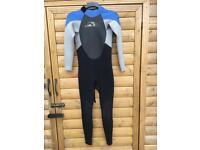 Alder Stealth 3/2 Childs wetsuit size 3xl